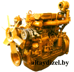 Двигатель ВМТЗ Д-145ТВ с жидкостным охлаждением